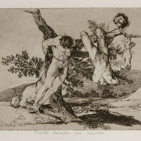 Alfons Bytautas and Mick Wootton: Goya and Dix - Behind the Lines