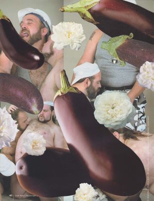 James Unsworth - Bulk Male Flower Collage 48